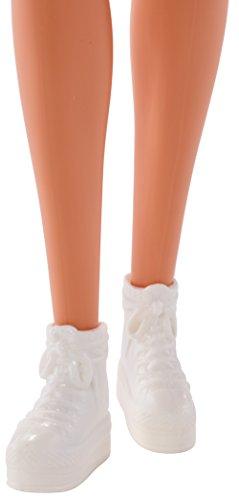 Arancione Barbie Divertenti stampato Con Trendy Fjf14 Abito Icone qgrtBg