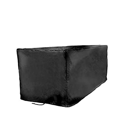 Sturdy Covers Deck Box Defender Cover - All-Season Outdoor Deck Box Cover (Black, Large) : Garden & Outdoor