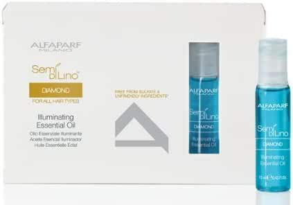 AlfaParf Semi Di Lino Diamante Illuminating Essential Oil, 12 Count