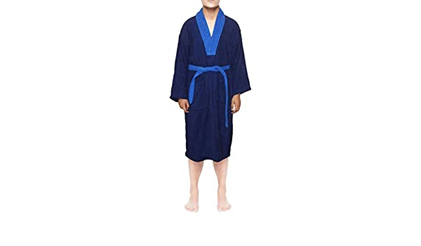SKYLINEWEARS Men 100% Egyptian Cotton Bath Robe Terry Toweling Dressing Gown  at Amazon Men s Clothing store  8a98bc4e7