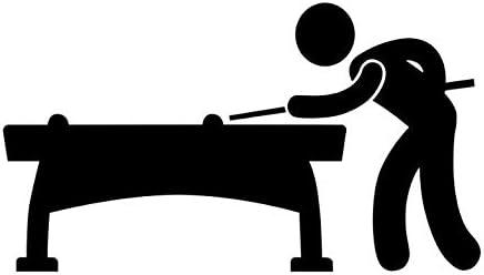 Liwendi Dibujos Animados Deportes Decoración Del Hogar Vinilo Desmontable Piscina Infantil Billar Pegatinas De Pared Accesorios Autoadhesivos Pegatinas De Pared Sala De Estar 76 Cm * 43 Cm