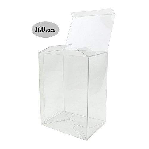 GosuToys Clear Plastic Protector Case Compatible For 4-inch Funko Pop Figures (100 Pack)