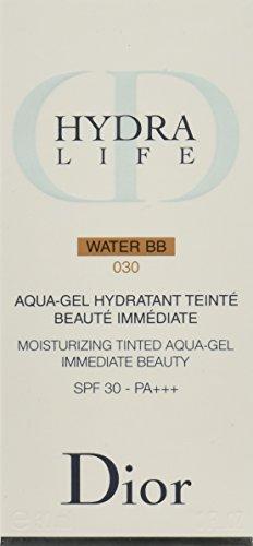 Christian Dior Hydra Life Water SPF 30 BB Moisturizing Tinted Aqua-Gel Moisturizer for Women, No. 030, 1 - Eshop Dior
