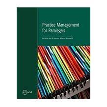 PRACTICE MANAGEMENT FOR PARALEGALS