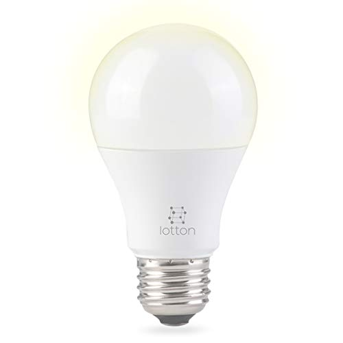 Iotton Smart Light Bulb, WiFi, No Hub Required, Soft White (2700-5000K), Dimmable, A19, E26, 9W (60W Equivalent), Compatible with Alexas and Google Assistant