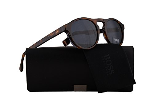 blue 0973s Havana W Iprku Boss Sunglasses Lens Grey 50mm Hugo s 0973 Blue xTq0AO4