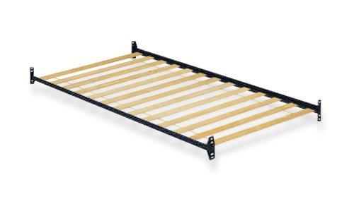 Amazon.com: Twin Size Bunkie Board Bunky Bed Slat Support u0026 Steel Mattress  Rails Frame: Kitchen u0026 Dining