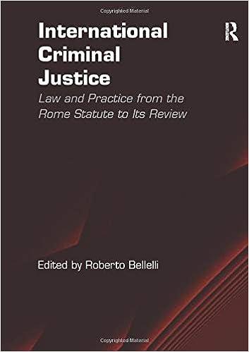 International Criminal Justice Review