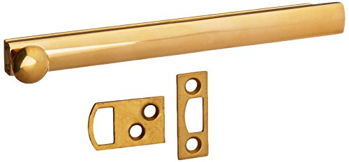 UPC 723079317946, Baldwin 0324031 Surface Bolt, Unlacquered Bright Brass