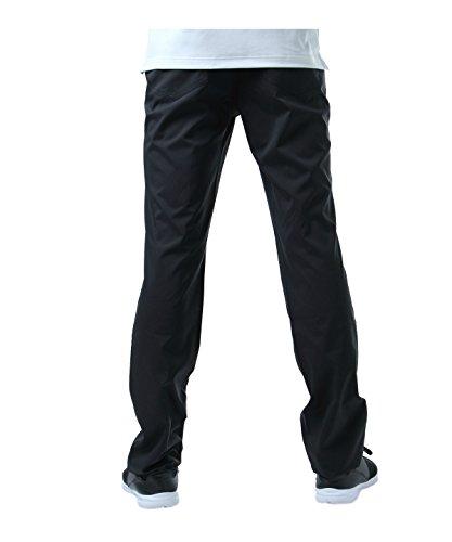 ツアーディビジョン ゴルフウェア ロングパンツ 二重織テーパード TD220107H01 BK 79