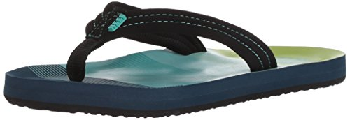 Reef Ahi Sandal - Boys' Aqua/Green, 4.0/5.0