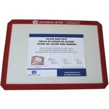 Johnson Rose Silicone Half Size Baking Mat with Cut Corners, 16.5 x 11.75 x 0.12 inch -- 50 per case.