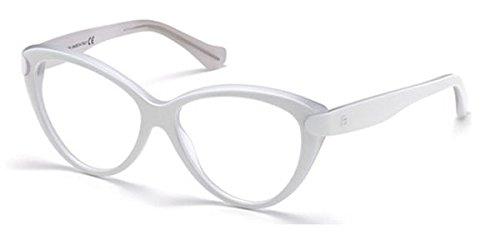 Eyeglasses Balenciaga BA 5026 BA5026 022 white/crystal