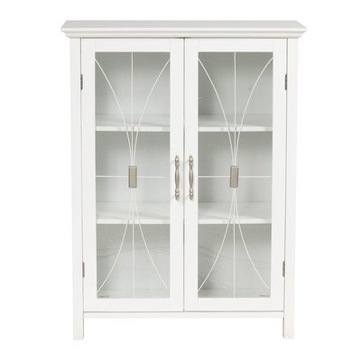 Elegant Home Delaney Floor Cabinet with 2 Doors by Elegant Home Fashions