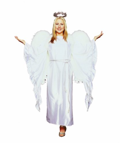 RG Costumes Women's Guardian Angel, White One Size -