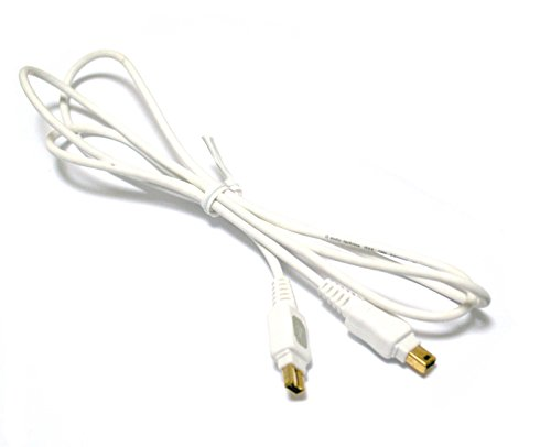 Bargains Depot Electronics® Products Brand New 5 FT Firewire 4-4 P DV Video Cable/Cord For Panasonic NV-GS400 NV-GS330 NV-GS180/P/K + Free - Gs330 Nv Camcorder