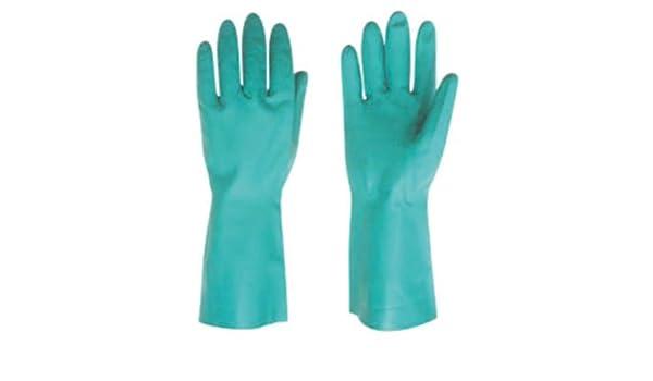 Rojo de dirigir 503 práctico Clean uso General guantes de nitrilo, color verde (Juego de 3 pares): Amazon.es: Amazon.es