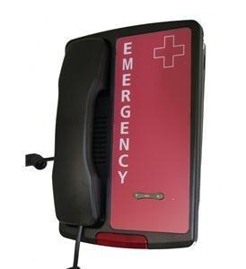 Emergency Phone, Black