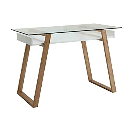 Wood desk with glass top Polished Wood Image Unavailable Image Not Available For Color Wood Desk With Glass Top Houzz Amazoncom Wood Desk With Glass Top And Shelf Rectangular Writing