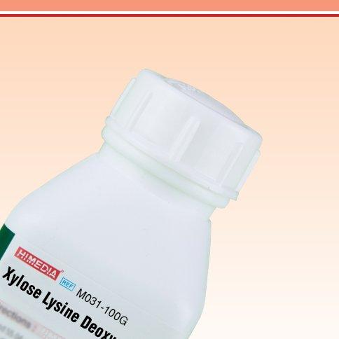 HiMedia M031-100G Xylose Lysine Deoxycholate Agar (XLD Agar), 100 g HiMedia Laboratories