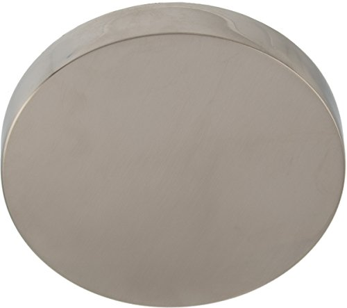 (Round Overflow Face Plate with Concealed Screw- PVD Satin (brushed) Nickel)