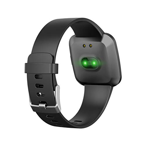 V12C Fitness Tracker, Activity Tracker Watch with Heart Rate Monitor, Smart Fitness Band with Step Counter, Pedometer Watch for Kids Women and Men (Black) by Besde Other (Image #6)