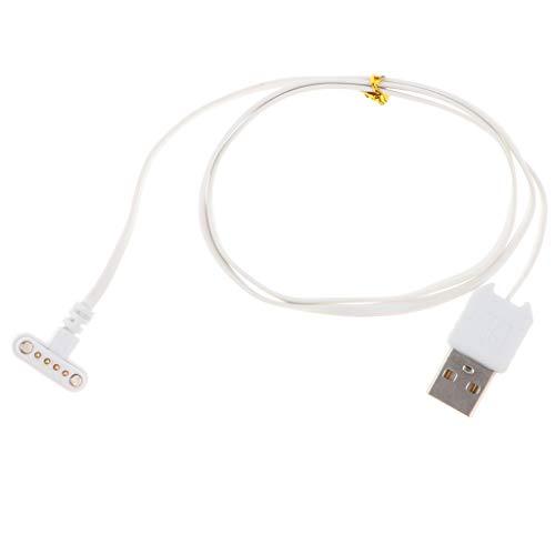 Homyl 1 pc Cables de Cargador Magnético USB 2,0 a 4 Pin Pulsera ...