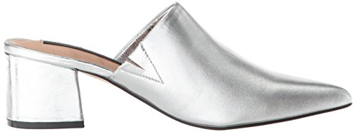 Madden Leather Women's Silver Simone STEVEN Sneaker Steve by EqwnRa