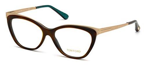 TOM FORD Eyeglasses FT5374 052 Dark Havana ()