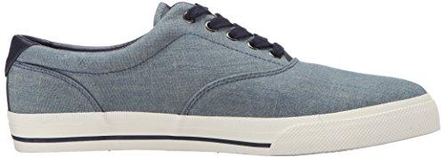 Polo Ralph Lauren Heren Vaughn Chambray Fashion Sneaker Blauwgroen