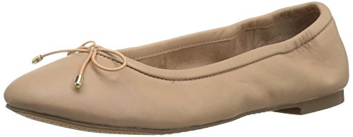Leather Women's Flat Ballet 206 Nude Madison Collective 4w1xqa7