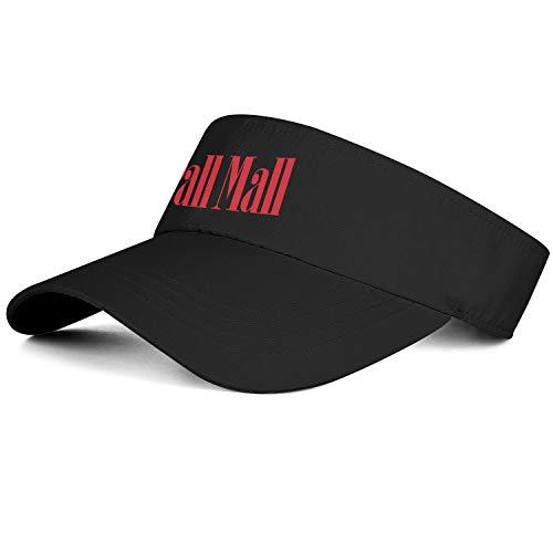 Pall-mall-Logo Men Women Sun Visor Cap Golf Hats Sports Caps Fit
