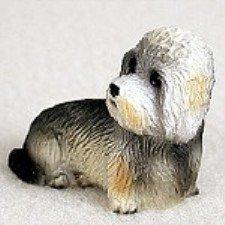 Dandie Dinmont Terrier Tiny One Figurine (Dandie Dinmont Terrier Dog Figurine)