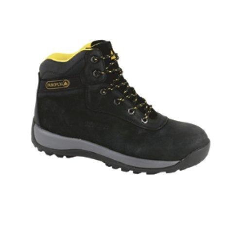 Delta Plus Unisex Nubuck Leather Hiker Safety Boots/Footwear Black