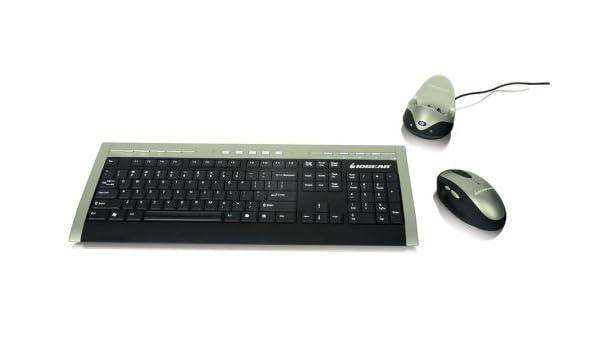 IOGear Long Range Wireless Multimedia Keyboard/Mouse GKM541R 64Bit