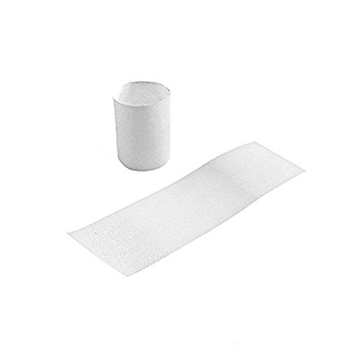 Gorilla Supply White Napkin Bands 1.5'' x 4.25'' (Pack of 15000, 6pks of 2500)