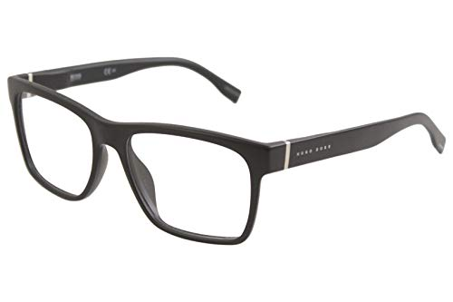 Boss Hugo Boss Eyeglasses - Hugo Boss Men's Eyeglasses 0728N 0728/N 003 Matte Black Optical Frame 55mm