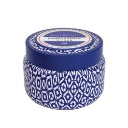 Capri Blue SYNCHKG033206 Pomegranate Citrus Printed Travel Tin 8.5oz none 8 Ounce ()