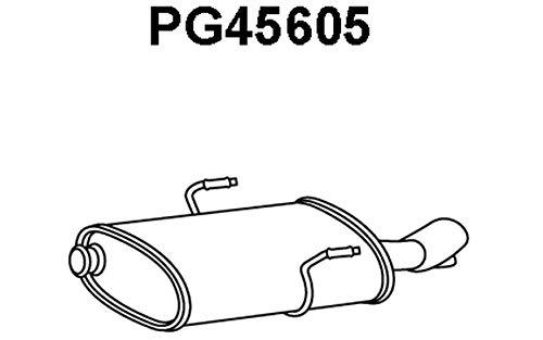 Veneporte pG45605 nachschalld/ämpfer
