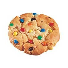 Readi Bake Supreme M and M Candy Shoppe Cookie Dough, 1.5 Ounce -- 216 per case. by Readi-Bake
