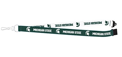 Pro Specialties Group NCAA Michigan State Spartans Two-Tone Lanyard, 18-inches, Green