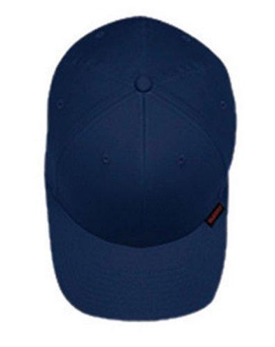 Yupoong V-Flexfit Cotton Twill Cap L/XL Navy