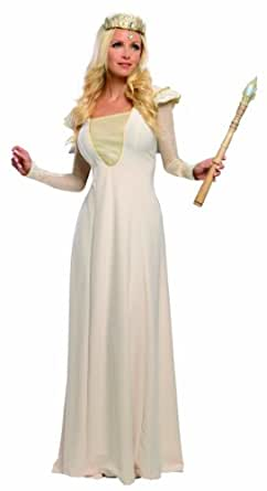 Rubie's Costume Disney's Oz The Great and Powerful Adult Deluxe Glinda Dress and Headpiece, Multi, X-Small