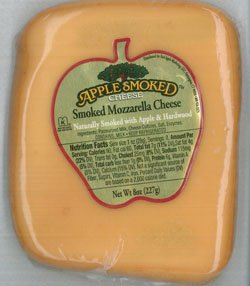 Red Apple Smoked Cheese Smoked Mozzarella, 8 oz