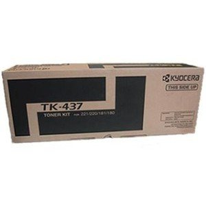 Black Yield 15000 (New Mita-Kyocera TK-437 OEM Toner: Black Yields 15,000 Pages)