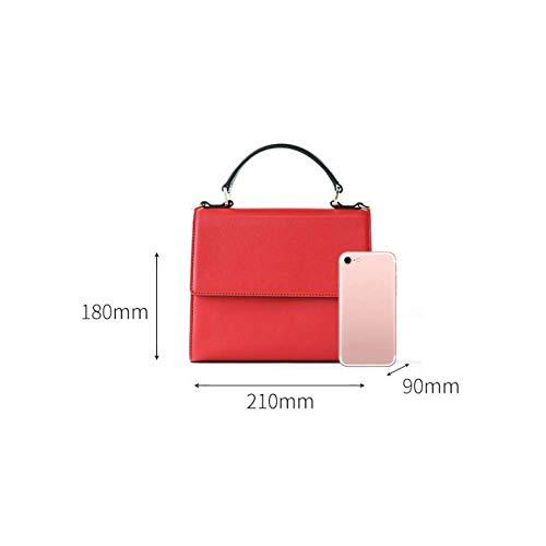 Bolso Bolso Banda Rojo Y América De Tamaño Moda Mensajero color Tamaño Eeayyygch Bolsa Simple Mujer Lightgray Ancha Europa Hombro Un Ad8XwF