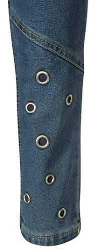 dollhouse Girl's Denim Skinny Jeans with Fashion Designs 3