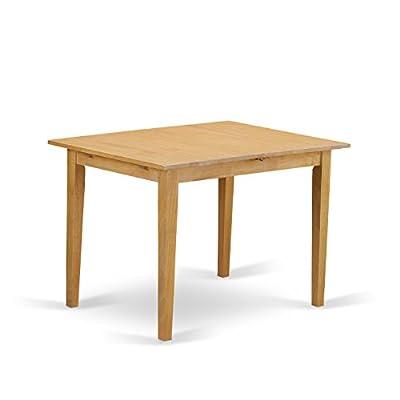 East West Furniture NOFK3-OAK-C 3-Piece Kitchen Nook Dining Table Set -  - kitchen-dining-room-furniture, kitchen-dining-room, dining-sets - 314CGGTxOSL. SS400  -