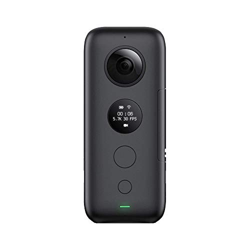 Insta360 ONE X 360 Camera, with FlowState Stabilization (SD Card Sold Independently, V30 microSDXC is Required) Insta360