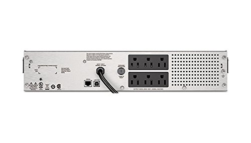 APC Smart-UPS 1500VA UPS Battery Backup with Pure Sine Wave Output Rack-Mount/Tower (SMC1500-2U) by APC